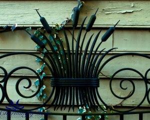 ironwork-cattails